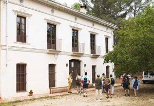 Casa del Coronel en la aldea de Mijares.