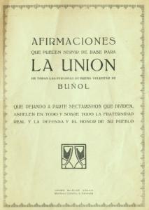 Manifiesto La Unión