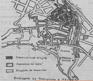 Plano de Buñol 1926
